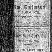 1911-1912 Zorn's Directory of the City and County of Manitowoc