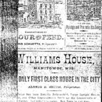 1884 Manitowoc City Directory